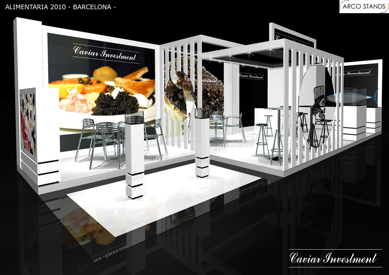 Booths Design And Building 3d Computer Graphics Interior Design